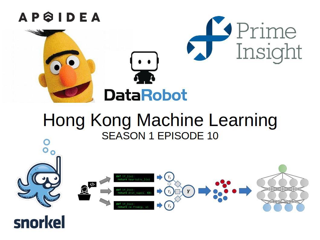 HKML] Hong Kong Machine Learning Meetup Season 1 Episode 10